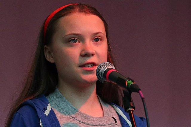 R.Unido.- Greta Thunberg se suma a la acampada de Extinction Rebellion en Londres