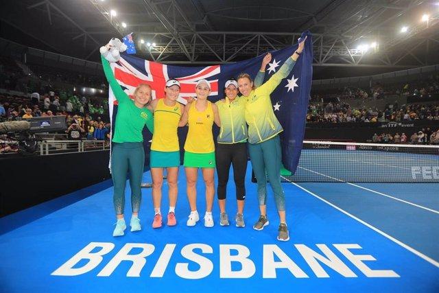 Tenis/Copa Federación.- Australia y Francia jugarán la final de la Copa Federación