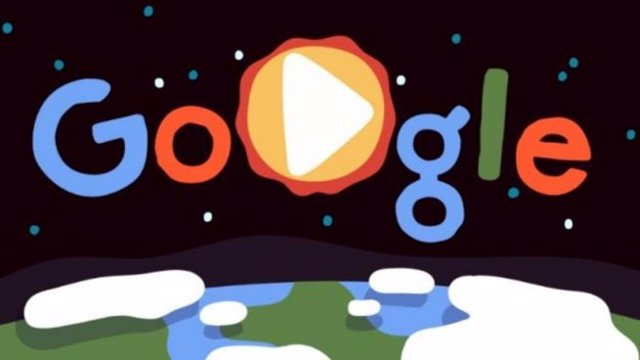 Google celebra el Día de la Tierra con un animado 'doodle'