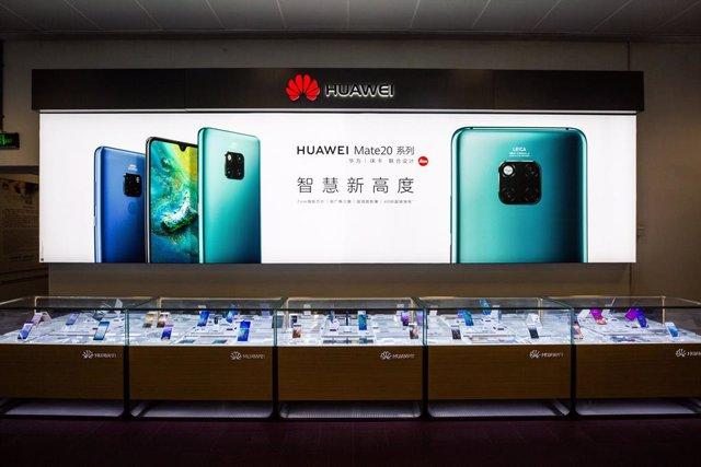 Chinese tech giant Huawei