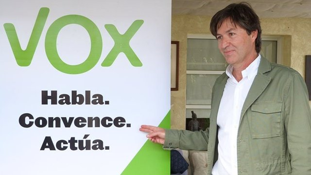 Huelva.-26M.- Wenceslao Font, exconcejal del PP, será el candidato de Vox a la Alcaldía de la capital