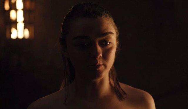 """Maisie Williams, sobre la impactante secuencia de Arya del 8x02 de Juego de tronos: """"Pensé que era broma"""""""