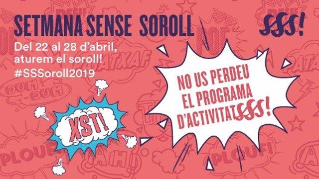Barcelona inicia la setmana de conscienciació sobre la contaminació acústica