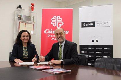 Bankia y Cáritas Madrid firman nuevo acuerdo para ayudar en el pago de alquiler a familias en situación vulnerable