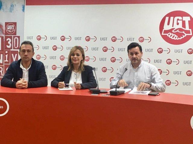"""26M.- Vallina (IU) Propone A UGT La """"Unión"""" Entre Partidos De Izquierdas Y Sindicatos En Defensa De La Agenda Social"""