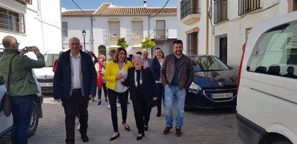 """Susana Díaz avisa: """"Ganar no es suficiente"""" para el PSOE porque las derechas no respetarán al más votado"""