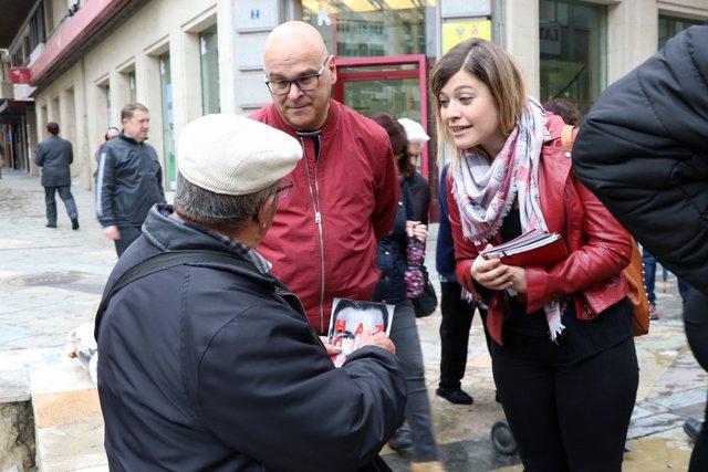 """Jaén.- 28A.- Berja asegura que """"avanzar tiene las siglas del PSOE"""" y """"retroceder tiene las siglas de PP, Cs y Vox"""""""