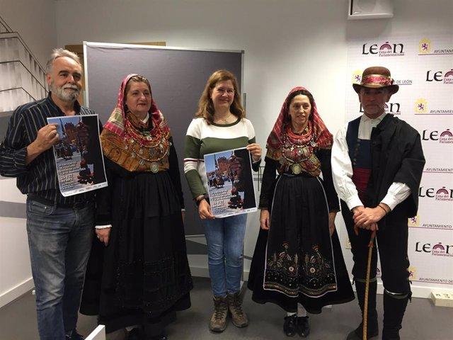 León recupera las tradiciones y la cultura del antiguo Reino con el III Encuentro de Folclore 'Ciudad de León'