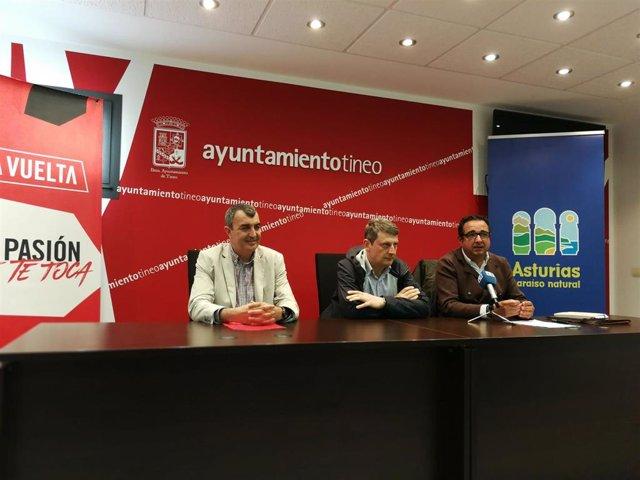 La decimoquinta etapa de La Vuelta Ciclista partirá de Tineo el 8 de septiembre