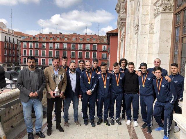 """Valladolid reconoce la labor del CLPV y se presenta como """"ejemplo para otras ciudades"""" en apoyo al deporte base"""