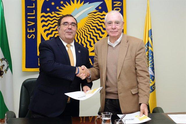 Sevilla.- La UPO y la Real Sociedad Matemática Española promoverán actividades conjuntas
