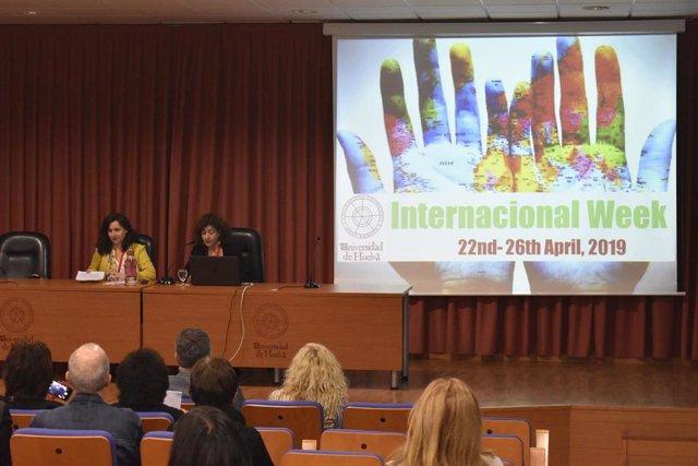 Huelva.- La Onubense acoge por su Semana Internacional a más de 30 instituciones de 25 países