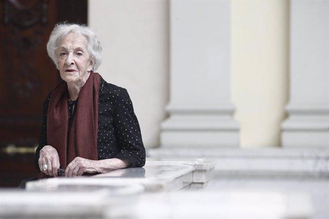 Encuentro con Ida Vitale, Premio Cervantes 2018, en la Biblioteca Nacional de España