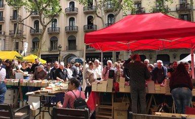"""Els llibreters auguren un """"bon Sant Jordi"""" amb fins a un 2% més de facturació (EUROPA PRESS - Archivo)"""