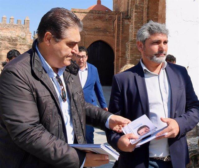 Huelva.-28A.- Cortés defenderá el patrimonio histórico de Huelva como fuente para reactivar la economía y el empleo
