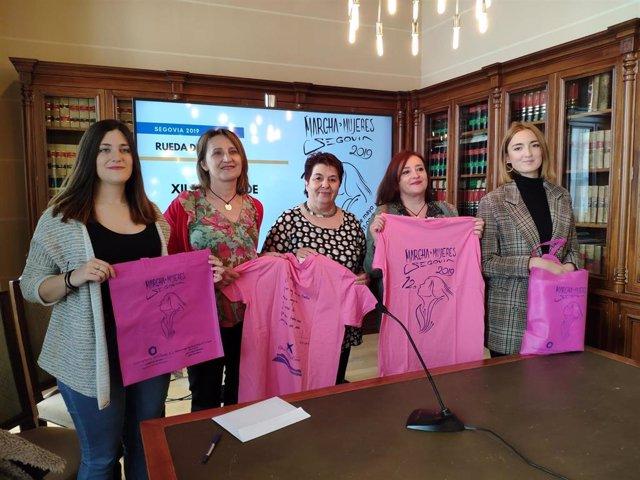 Abierta la inscripción para la XII Marcha de Mujeres de Segovia, que pone el tope máximo en 3.450 plazas