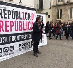Front Republicà condiciona la investidura a l'autodeterminació i derogar la reforma laboral (FRONT REPUBLICA)