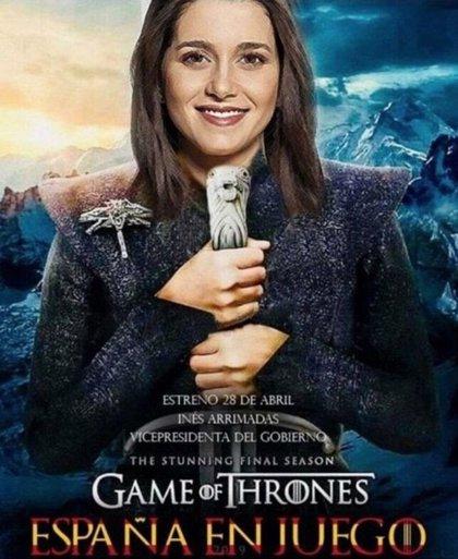 HBO afirma que no ha autorizado el uso de la imagen de 'Juego de Tronos' para campañas como la de Ciudadanos