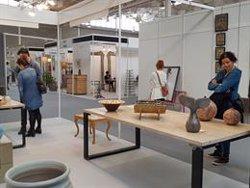 Unes 3.000 persones visiten la fira de disseny d'interiors Antic & Design Empordà (EUROPA PRESS)