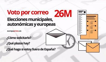 Voto por correo elecciones municipales, autonómicas y europeas 26 de mayo de 2019: Cómo solicitarlo y plazos