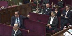 La vista es reprèn aquest dimarts amb testimonis de Vox entre els quals està citat Aragonès (SEÑAL DE TV DEL TRIBUNAL SUPREMO)