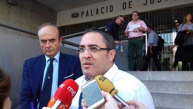 Aníbal Domínguez, hermano del hombre asesinado en el doble crimen de Almonte.