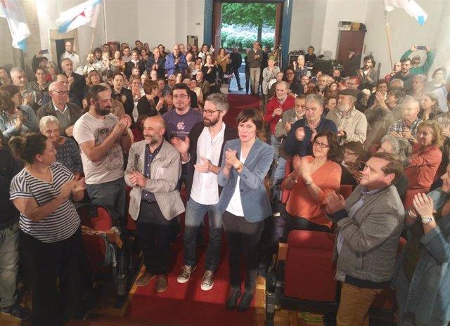 """Pontón asegura que el voto del BNG vale doble, """"para defender a Galicia y para frenar a la derecha de la plaza de Colón"""""""