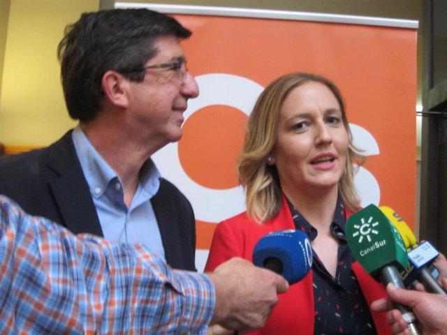 """Jaén.- 28M.- Marín (Cs) augura que """"la fuerza"""" de Cs en la provincia permitirá la representación en el Congreso"""