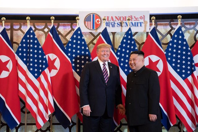 Kim and Trump meet in Hanoi