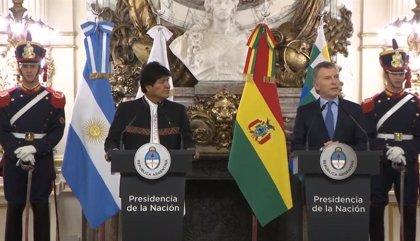 Bolivia y Argentina anuncian un pacto de cooperación energética y para construcción de hospitales