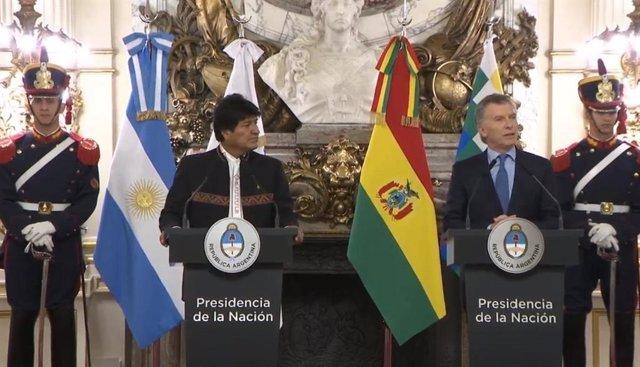 Argentina/Bolivia.- Bolivia y Argentina anuncian un pacto de cooperación energética y para construcción de hospitales