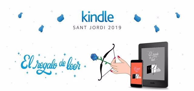 Amazon regalará rosas digitales y un eBook inédito en Sant Jordi