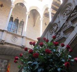 Sant Jordi.- La Generalitat obre al públic i celebra actes a Catalunya, Madrid i l'estranger (EUROPA PRESS - Archivo)