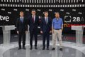 Casi 9 millones de espectadores siguieron el debate a cuatro, más de 7,8 millones en RTVE