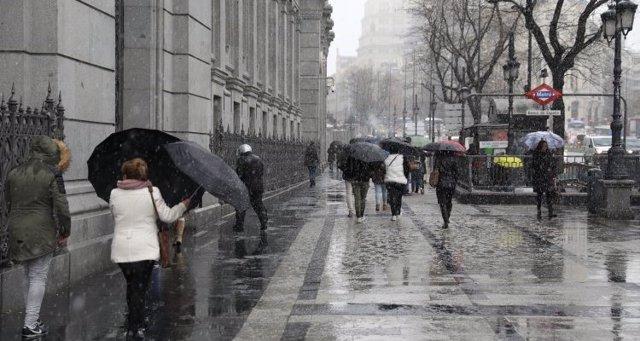 S.Santa.- Las lluvias continuarán este viernes y una nueva borrasca provocará inestabilidad