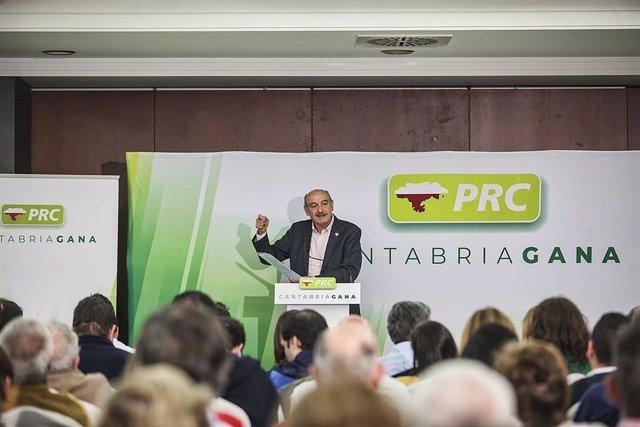 """28A.- Mazón Afirma Que El PRC Será En Madrid """"El Partido De Cantabria"""" Para Que No Estén Solo Los Grupos Vasco Y Canario"""
