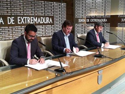 Olivenza disfrutará de la primera fábrica en España de Optibox, una tecnología que ahorra energía activa