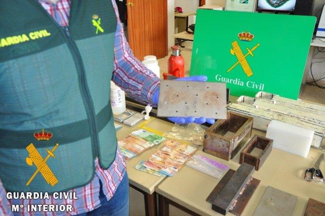 Almería.-Sucesos.-Siete detenidos acusados de producir drogas en un laboratorio de Murcia y distribuirla en Los Vélez