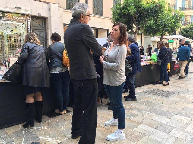 """28A.- Armengol Dice Que Sánchezz """"Escenificó"""" Durante El Debate De RTVE """"Su Buena Gestión En Políticas Sociales"""""""