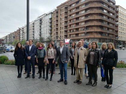 """San Martín renueva la lista al Ayuntamiento con candidatura que """"representa a la sociedad civil"""" de Logroño"""