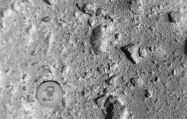 VÍDEO Observa la bomba que una nave japonesa lanzó al asteroide Ryugu