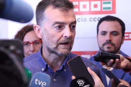 """Maíllo acusa a la Junta de """"favorecer a la minoría de la minoría de los ricos de Andalucía"""" en sus primeros cien días"""
