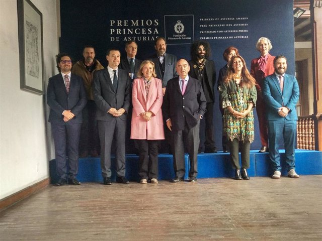 Reunión del jurado del Premio Princesa de Asturias de las Artes 2019