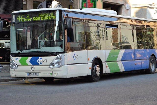 Els autobusos de Palma augmenten els seus usuaris un 8,5% al febrer i superin els tres milions de passatgers