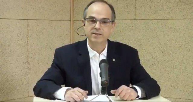 """28A.- Turull (JxCat) pide enviar un mensaje al Estado que refuerce la """"legitimidad"""" del 1-O"""