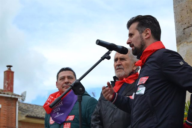"""DíaCyL.- Tudanca afirma que este es el Villalar """"más especial"""" por las expectativas de cambio en el Gobierno de la Junta"""