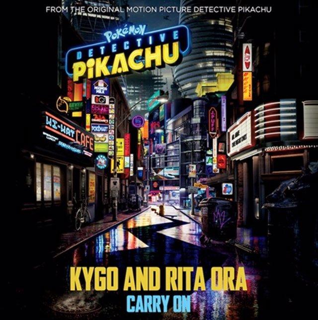 Kygo y Rita Ora ponen música a Pokémon Detective Pikachu con el single y videoclip Carry On