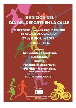 Sevilla.- Alcalá de Guadaíra celebra este sábado su 'III Día del Deporte en la Calle'