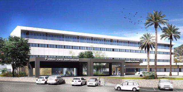 Málaga.- El Hospital Vithas Xanit Internacional de Benalmádena se ampliará con la construcción de un nuevo edificio