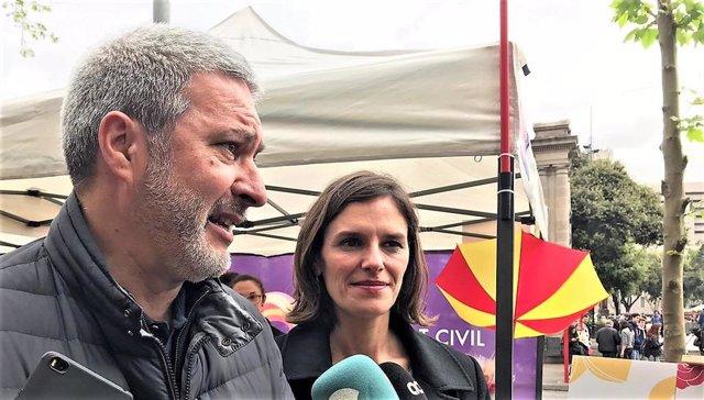 Sant Jordi.- SCC critica a Torra por querer internacionalizar el proceso soberanista